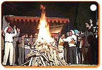 Bonfire Celebration