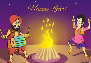 Wallpaper for Lohri